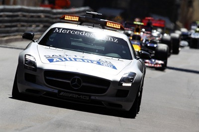 Safety Car en Montecarlo