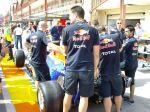 Tapando el difusor de Red Bull