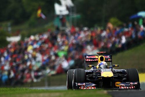 Vettel en Hungaroring