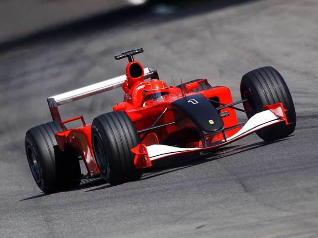 Duelo de Ferrari por el 11S (GP Italia 2001, Monza)