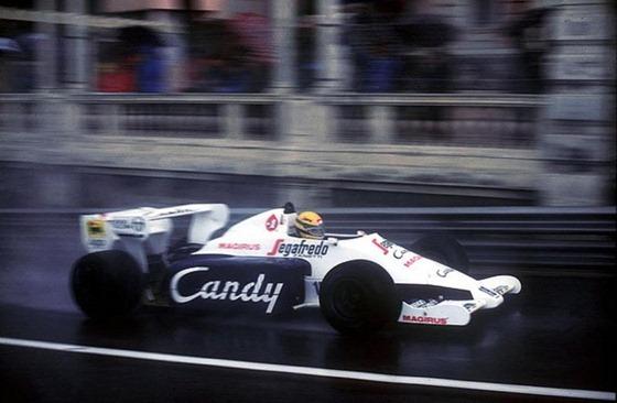 Ayrton Senna (Toleman-Hart), GP Mónaco 1984
