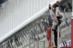 Maldonado en el podium