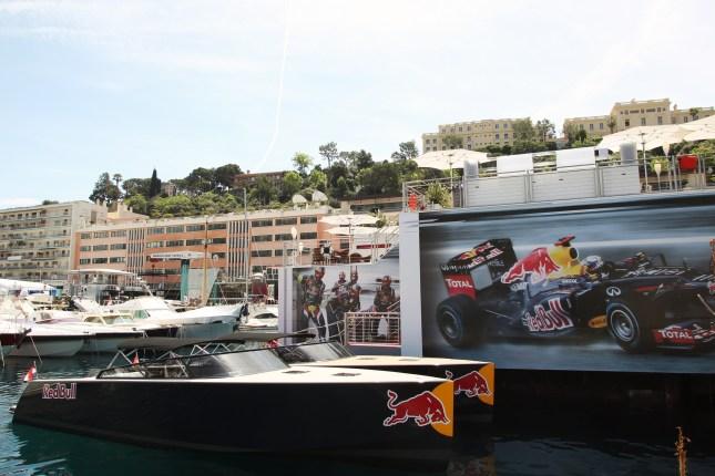 Lanchas Red Bull