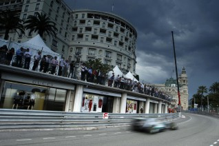 Nico Rosberg en Beau Ribage