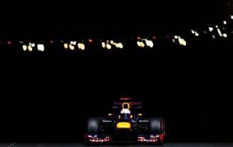 Vettel en el túnel