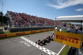 Grosjean cruza línea de meta