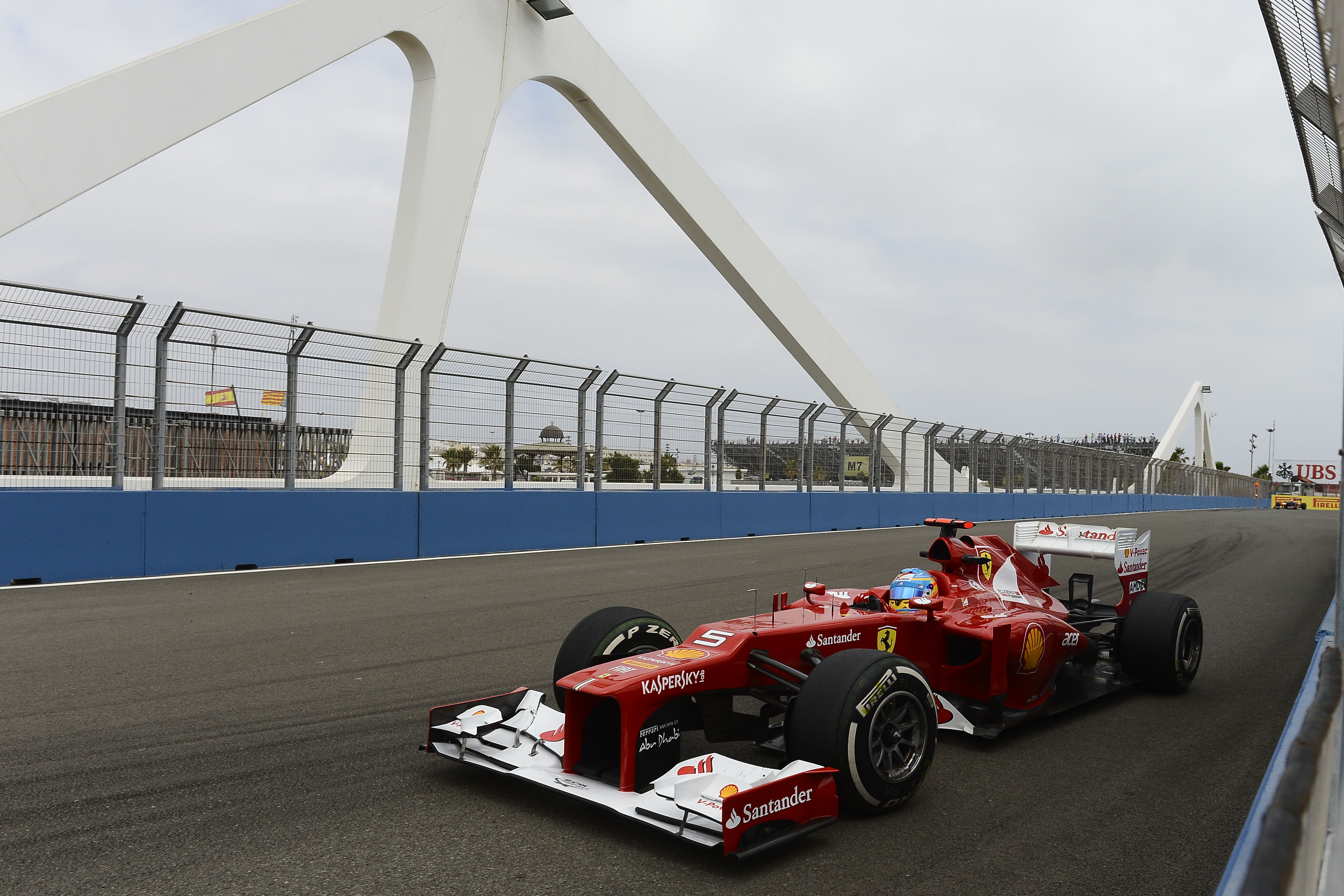 Circuito Valencia F1 : Valencia desde la pelouse