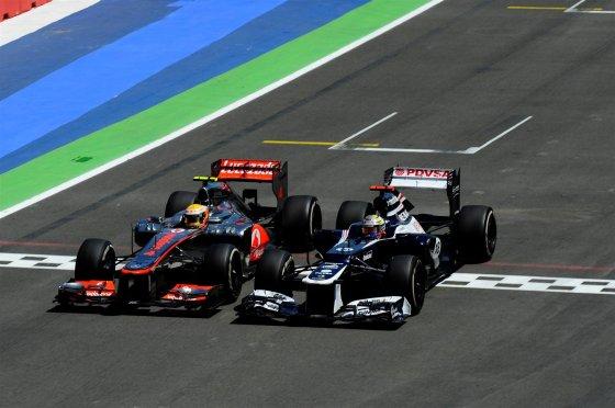 Hamilton y Maldonados emparejados