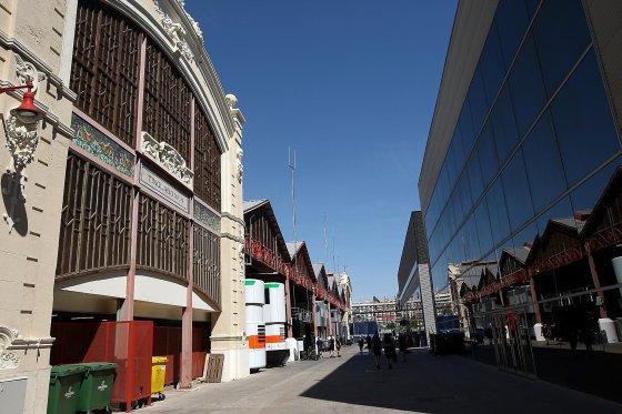 Valencia Street Circuit - Tinglados y motorhomes