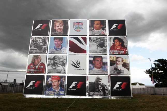 Muro de las leyendas, Silverstone