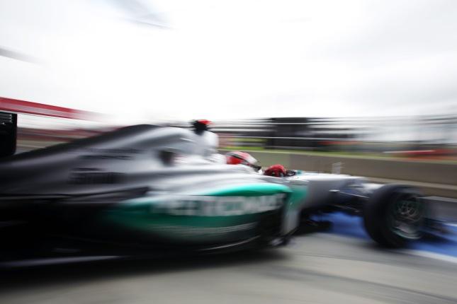 Michael Schumacher, Mercedes AMG (GP Gran Bretaña, 2012)