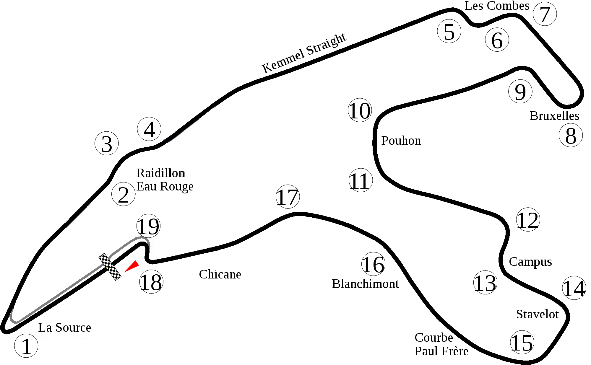 GP BELGICA - SPA FRANCORCHAMPS 7/03/2018 F1-circuito-spa-francorchamps-diagrama