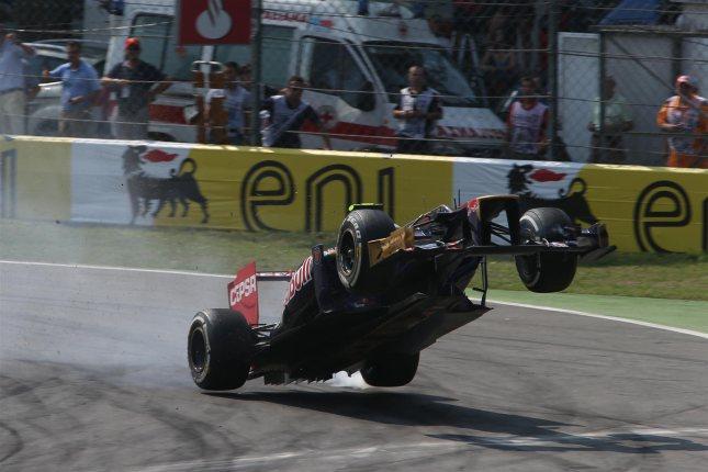 Vergne volando con el Toro Rosso