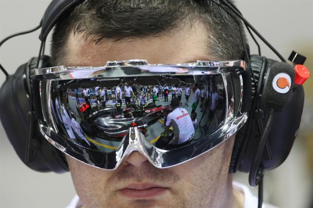 Reflejos de McLaren
