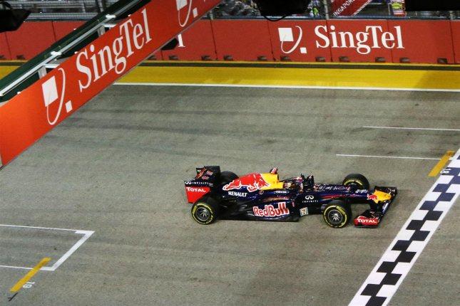 Victoria de Vettel en Singapur