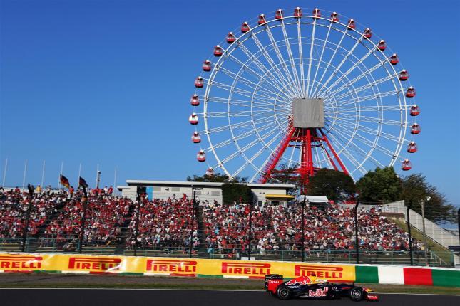 Vettel y la noria de Suzuka