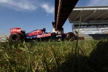 Ricciardo en su Toro Rosso