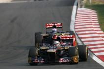 Buena carrera de Toro Rosso