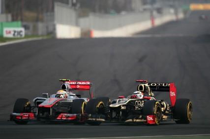 Duelo Hamilton - Raikkonen