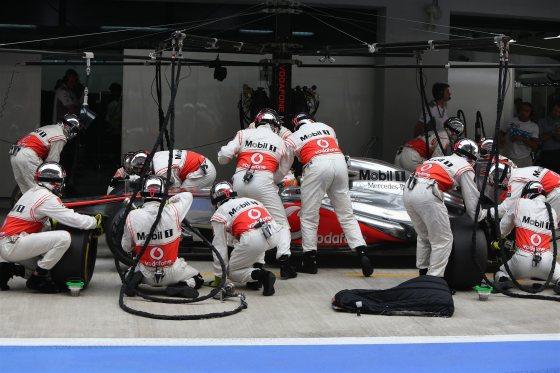 Cambio del volante de Hamilton