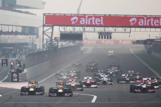 Salida GP India 2012