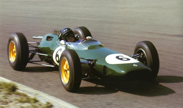 Jim Clark - Lotus 25 (GP Alemania, Zandvoort 1962)