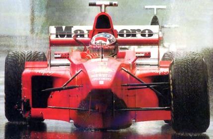 Michael Schumacher, Ferrari F300 (GP Bélgica, Spa 1998)