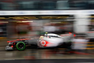 Más que difiminados, los McLaren estuvieron desaparecidos