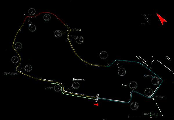 Diagrama circuito Albert Park