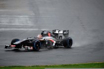 Mal debut de Hulkenberg en Sauber