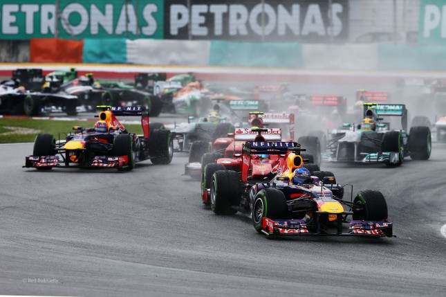 Primeras curvas del GP Malasia 2013