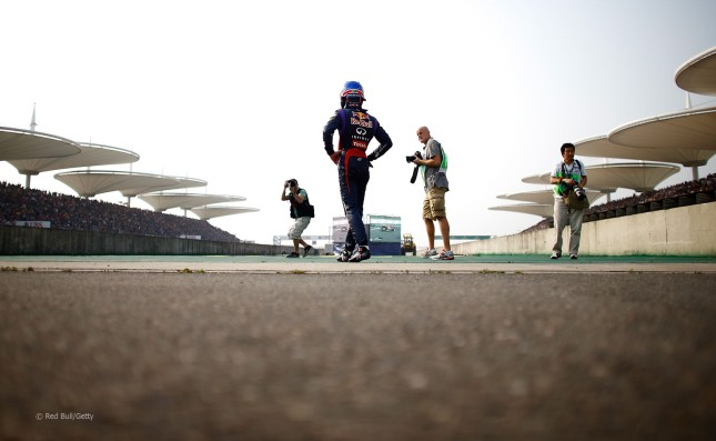 Abandono de Webber (GP China 2013)