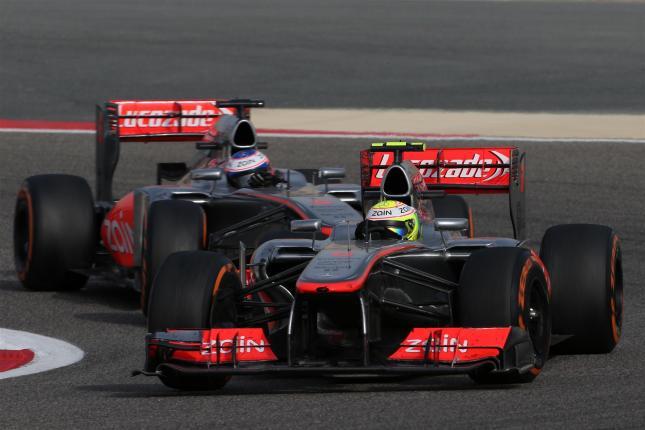 Duelo en McLaren (GP Baréin 2013)