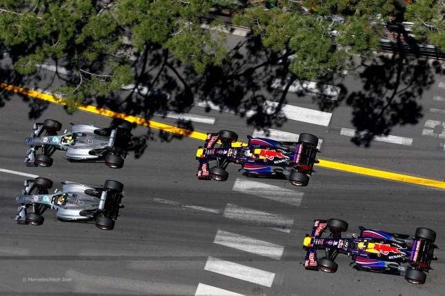 Compañeros emparejados (Salida GP Mónaco, 2013)