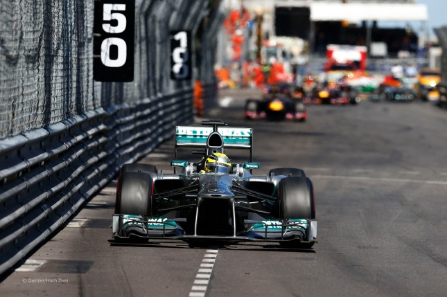 Nico Rosberg (GP Mónaco, 2013)