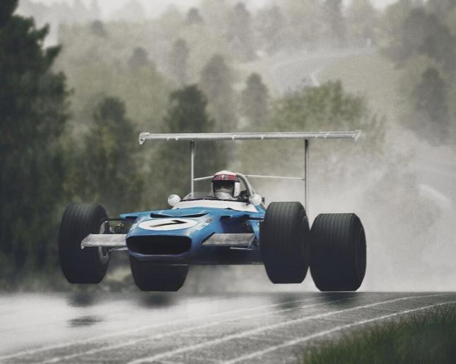 Jackie Stewart - Matra MS80 Cosworth (GP Alemania, 1969, Nürburgring)