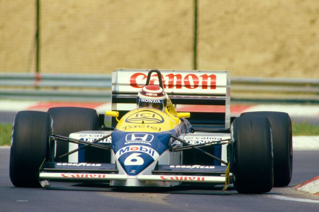 Nelson Piquet, Williams Honda FW11 (GP Hungría, 1986)