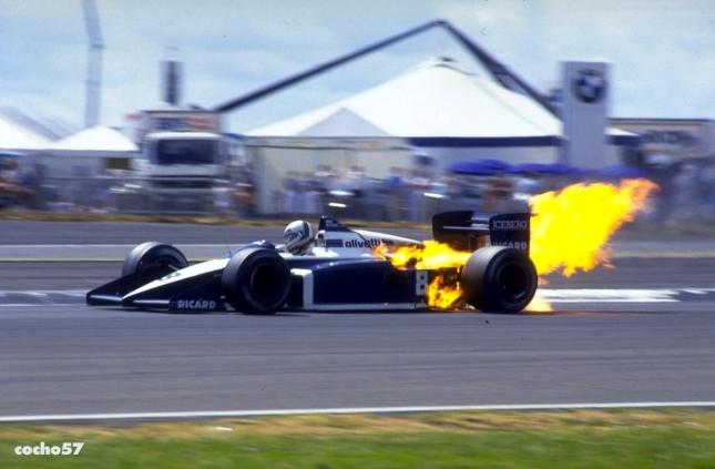 Andrea de Cesaris, Brabham BMW (GP Gran Bretaña, 1987)