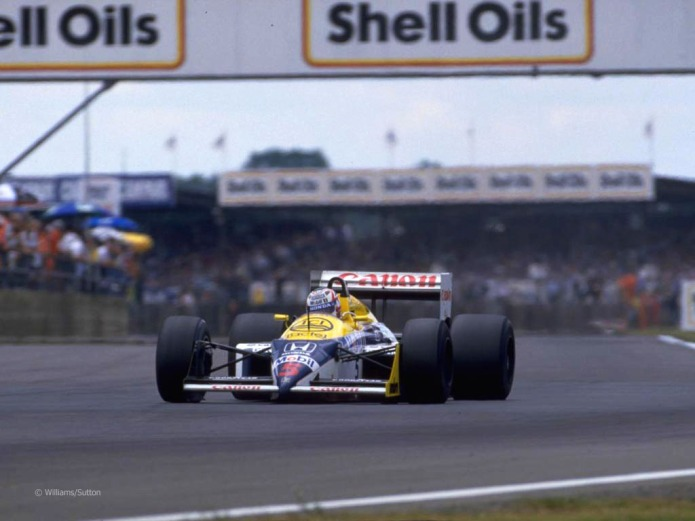 Nigel Mansell, Williams FW11B (GP Gran Bretaña, 1987)