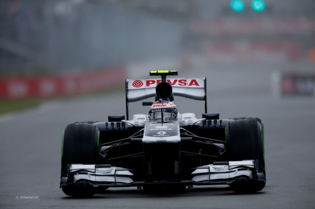 Valteri Bottas, Williams Renault FW35 (Clasificación GP Canadá, 2013)