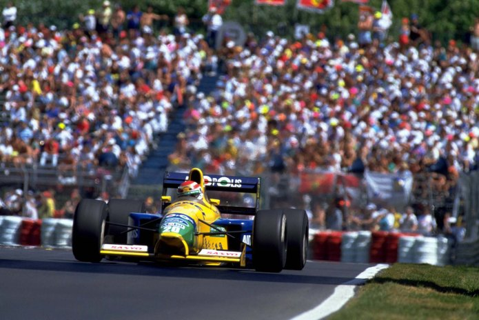 Nelson Piquet, Benetton Ford (GP Canadá, 1991)