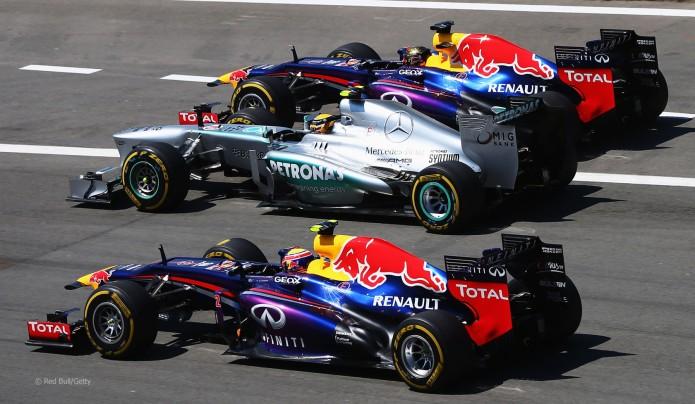 Salida del GP Alemania 2013 (Nurburgring)