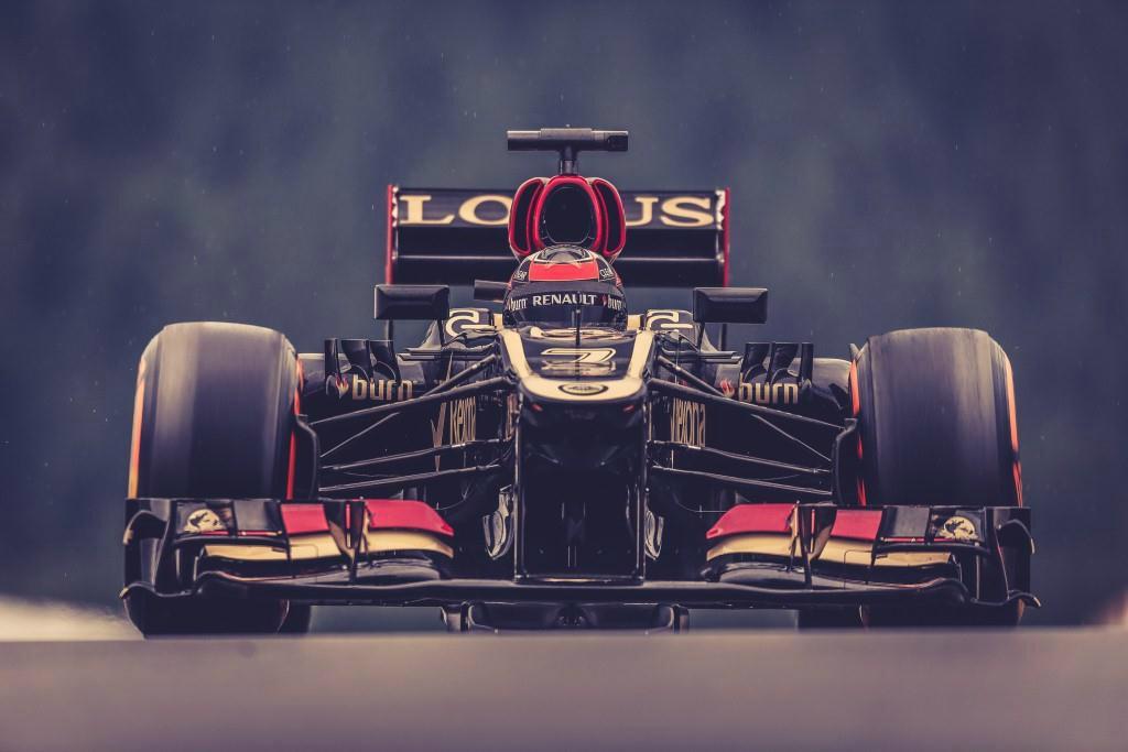 Kimi Raikkonen, Lotus Renault E21 (GP Bélgica, 2013)