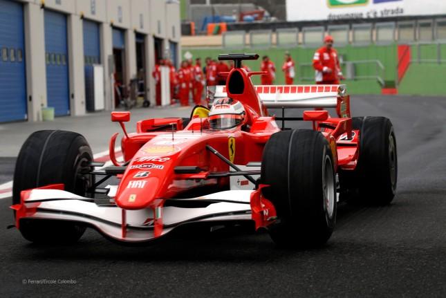 Kimi Raikkonen (Ferrari F2007)
