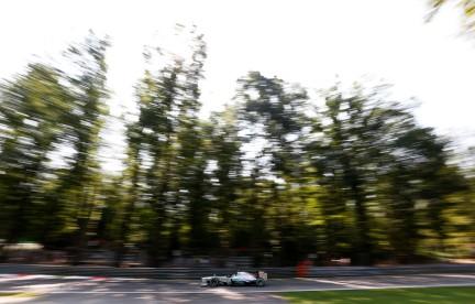 Lewis Hamilton, Mercedes W04 (GP Italia, 2013)