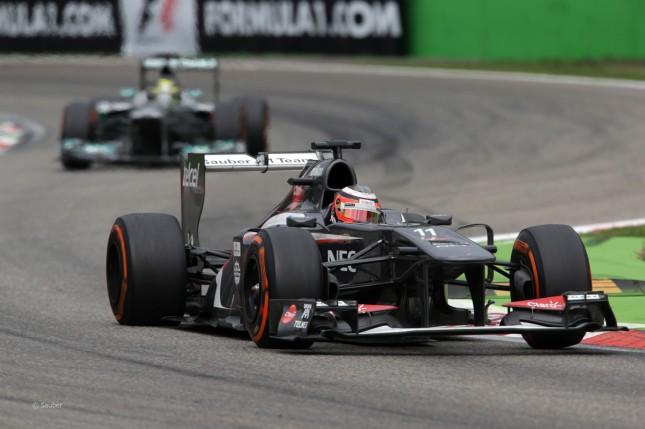 Nico Hulkenberg, Sauber Ferrari (GP Italia, 2013)