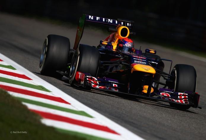 Sebastian Vettel, Red Bull Renault (GP Italia, 2013)