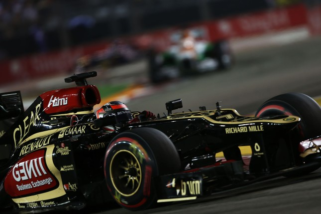 Kimi Raikkonen, Lotus E21 Renault (GP Singapur, 2013)