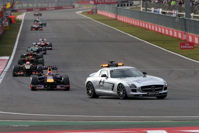 Safety Car (GP Corea, 2013)