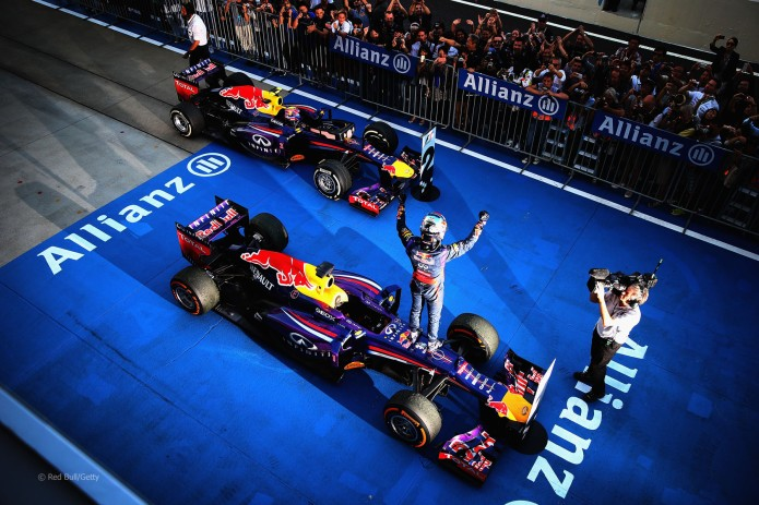 Doblete de Red Bull (GP Japón 2013)
